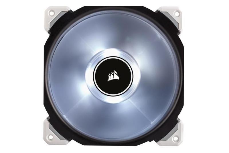 Corsair Air ML140 Pro 140mm Case Fan LED, White