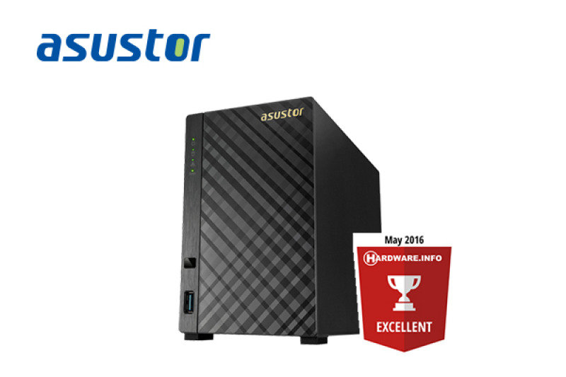 Asustor AS1002T 2TB 2 Bay NAS