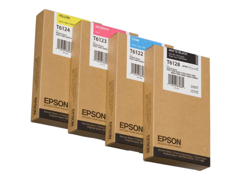 Epson T6123 Magenta Ink Cartridge
