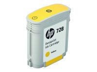 HP 728 Cyan 130ml Designjet Ink Cartridge - F9J67A