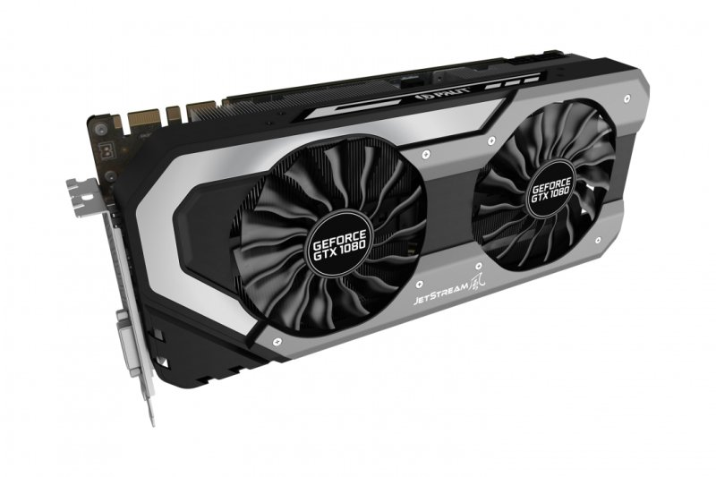 Palit GeForce GTX 1080 Super JetStream 8GB GDDR5X Dual-Link DVI HDMI 3x DisplayPort PCI-E Graphics Card