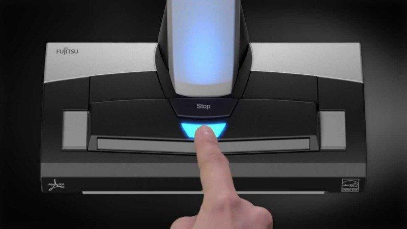 Fujitsu Scansnap SV600 document scanner
