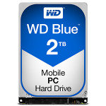 "EXDISPLAY WD Blue 2TB 2.5"" SATA Mobile Hard Drive"