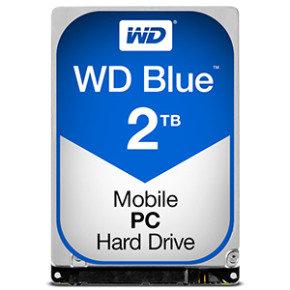 "EXDISPLAY WD Blue 2TB 2.5"" SATA Mobile Hard Drive"