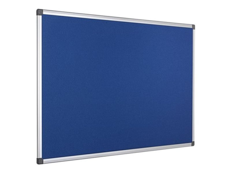 Bi-Office Fire Retardant 1800x1200mm Notice Board
