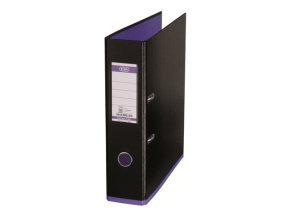 Mycolour A4 Lever Arch File Black/Purple