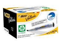 Bic Velleda Whiteboard Marker 1751 Black - (pk12)