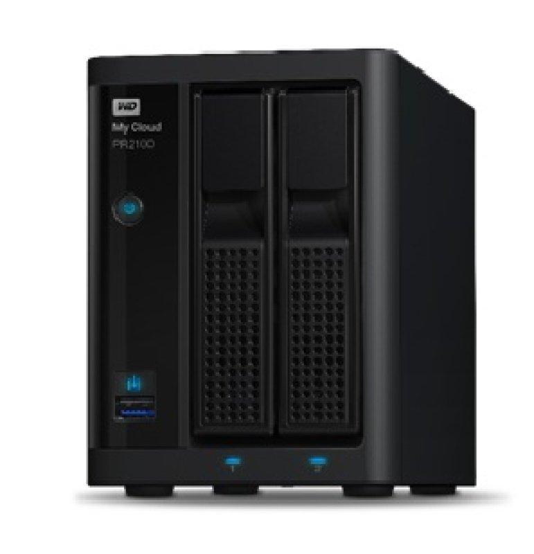 Wd My Cloud Pr2100 4tb 2-bay Desktop Nas