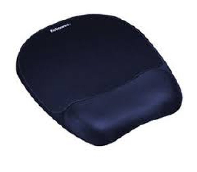 Fellowes - Mouse pad with wrist pillow