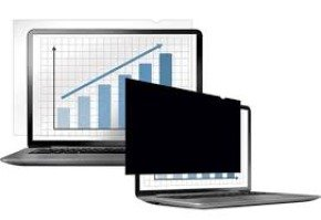 "Fellowes PrivaScreen Blackout Display privacy filter 15.4"" wide"