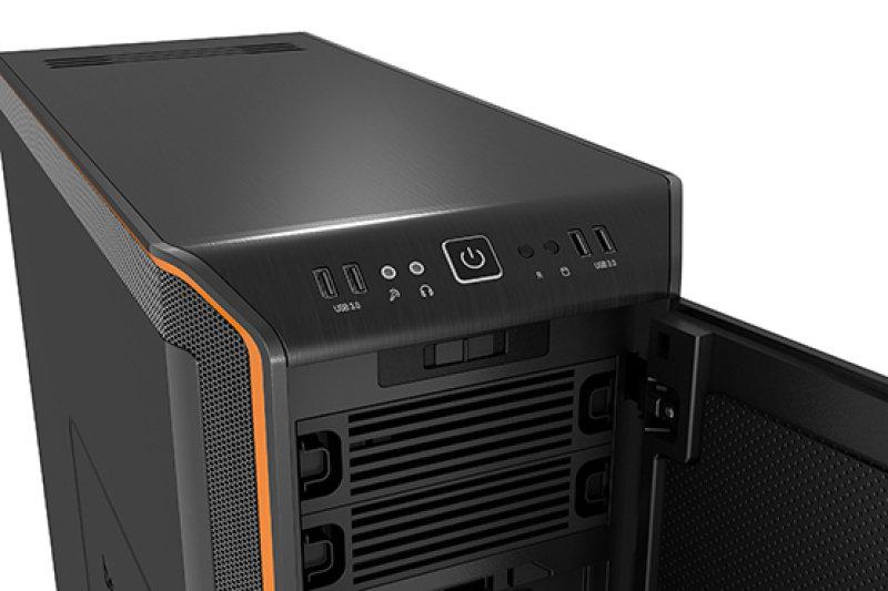 Be Quiet Dark Base 900 Orange ATX Case