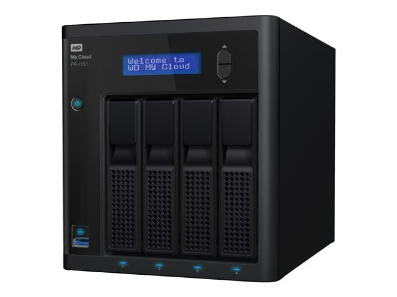 Wd My Cloud Pr4100 16tb 4-bay Desktop Nas
