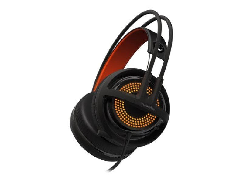 Steelseries Siberia 350 Gaming Headset With Microphone (black/orange)