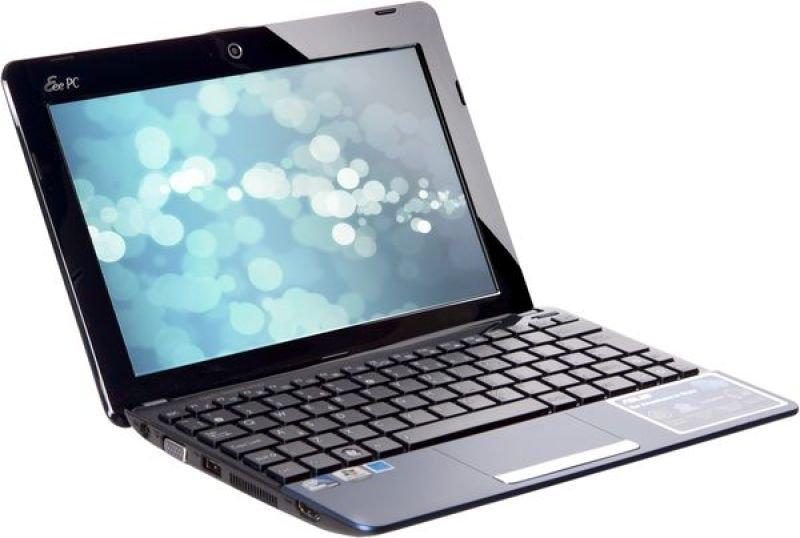 """Asus Eee Pc 1015cx Netbook, Intel Atom N2600 1.6ghz, 1gb Ram, 320gb Hdd, 10.1"""" Led, Noopt, Webcam, Windows 7 Starter"""