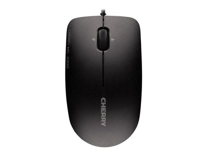 Cherry Mc-2000 Infra-red Corded Mouse With Tilt-wheel Technology (black)