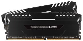 Corsair Vengeance LED 16GB (2 x 8GB) DDR4 DRAM 2666MHz C16 Memory Kit