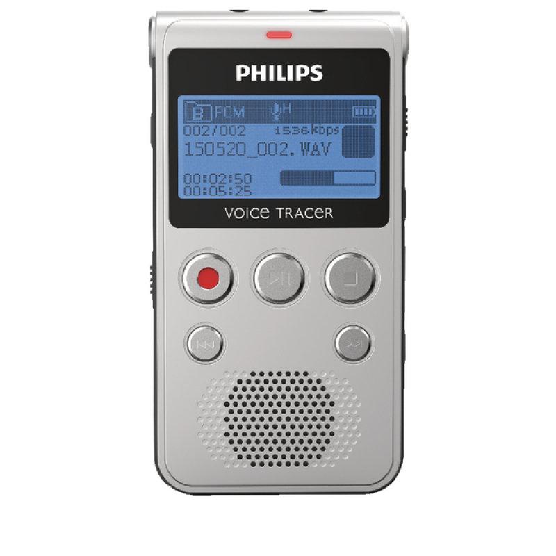 Philips DVT1300 Voice Tracer Audio Recorder