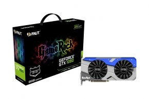 Palit GeForce GTX 1080 GameRock Premium Edition 8GB GDDR5X Dual-Link DVI HDMI 3x DisplayPort PCI-E Graphics Card