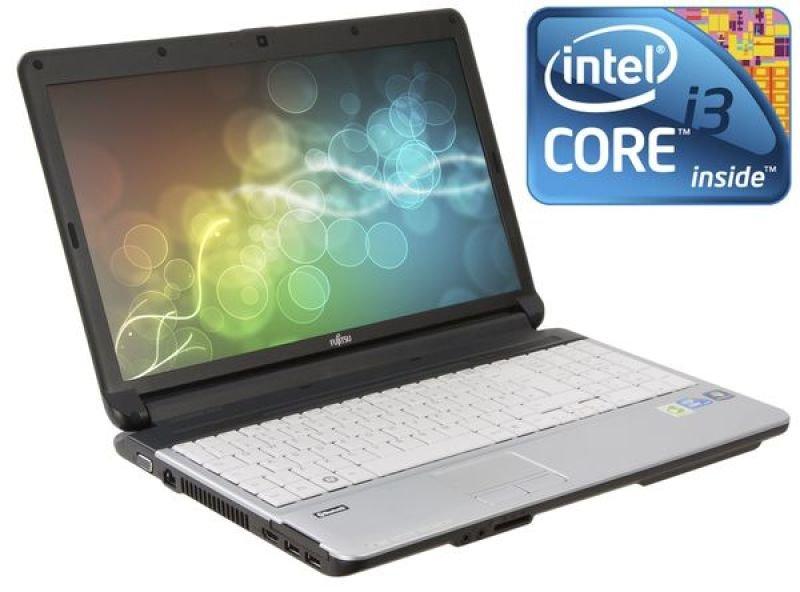 """Fujitsu Lifebook A530 Laptop, Intel Core I3-380m 2.53ghz, 2gb Ram, 320gb Hdd, 15.6"""" Hd, DVD±rw, Intel Hd, Webcam, Windows 7 Professional"""