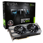 EVGA GeForce GTX 1070 FTW GAMING ACX 8GB GDDR5 Graphics Card