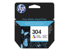 HP 304 Tri-Colour Original Ink Cartridge - N9K05AE