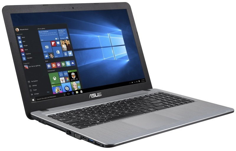 Asus X540SA Laptop Intel Pentium QuadCore N3700 1.6GHz 4GB RAM 1TB HDD 15.6&quot LED DVDRW&lt Intel HD WIFI Webcam Bluetooth Windows 10 Home 64bit