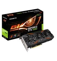 EXDISPLAY Gigabyte GeForce GTX 1080 G1 Gaming OC 8GB GDDR5X Dual Link DVI-D HDMI 3X DisplayPort PCI-E Grpahics Card