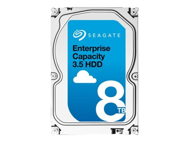 Seagate Enterprise Capacity 3.5 hard drive  8TB SATA 6Gb/ s