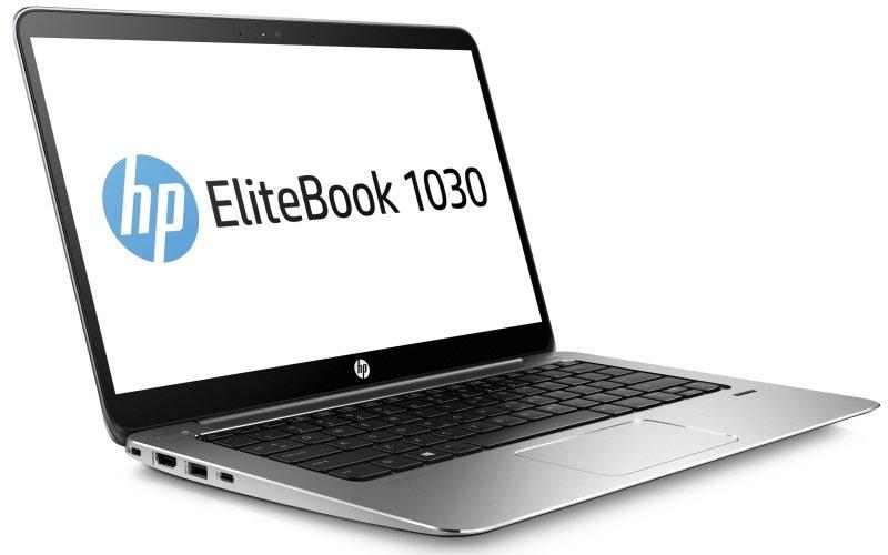 Image of HP EliteBook 1030 G1 Laptop, Intel Core M5-6Y54 1.1GHz, 8GB RAM, 256GB SSD Z Turbo,13.3 QHD Touch, No-DVD, Intel HD, WIFI, Bluetooth, Webcam, Windows 10 Pro 64