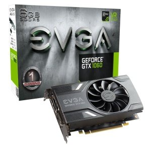 EVGA GeForce GTX1060 6GB GDDR5 Gaming Graphics card