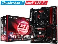 Gigabyte GA-Z170X-ULTRA GAMING Socket 1151 HDMI Mini DisplayPort 7.1 Channel Audio ATX Motherboard