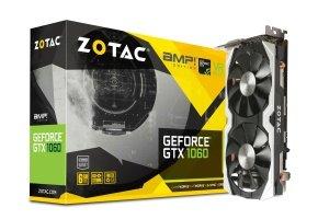 Zotac GeForce GTX 1060 6GB AMP! Edition 6GB GDDR5 Graphics Card