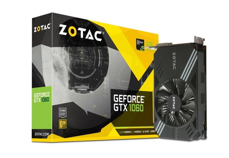 Zotac GeForce GTX 1060 Mini 6GB GDDR5 Graphics Card