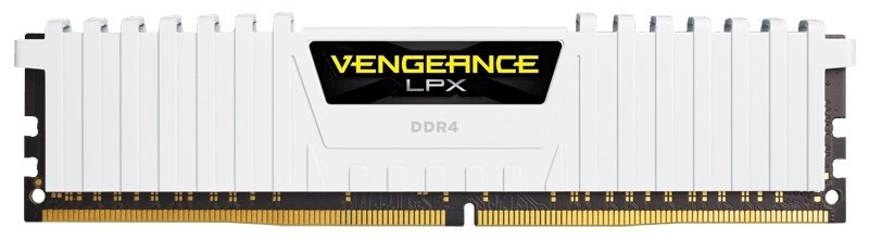 Corsair Vengeance LPX 32GB (2x16GB) DDR4 DRAM 3000MHz C15 Memory Kit - White