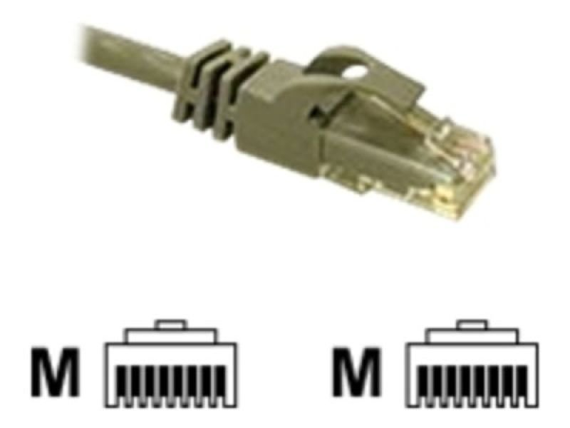 C2G, Cat6 550MHz Snagless Patch Cable Grey, 1m