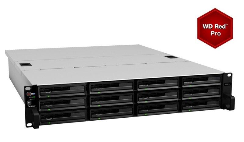 Synology RS3614RPxs 72TB (12 x 6TB WD RED PRO) 12 Bay 2U NAS