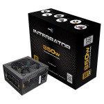 Aerocool Integrator 850W PSU 12cm Black Fan Active PFC TW Caps UK Cable