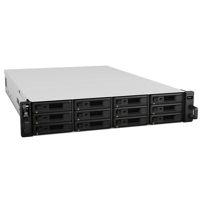 Synology RS2416+ 96TB (12 x 8TB WD RED PRO) 12 Bay Rackmount NAS
