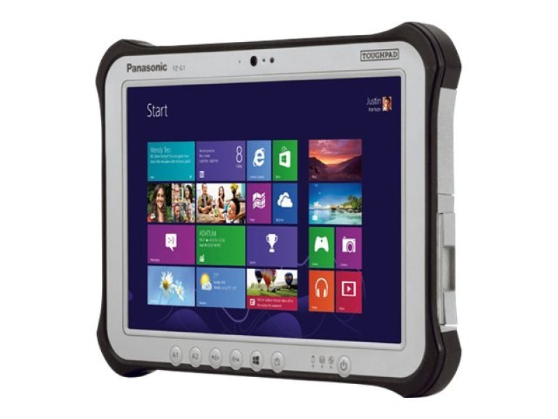 "Panasonic FZ-G1 Rugged Tablet, Intel Core i5-6300U, 4GB RAM, 128GB SSD, 10.1"" Touchscreen, WIFI, Windows 10 Home"
