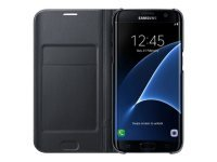 Samsung Galaxy S7 Edge Led Cover Black