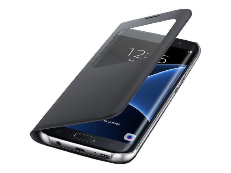 Samsung Galaxy S7 Edge S View Cover Black