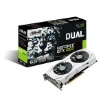 Asus GeForce DUAL GTX 1060 6GB GDDR5 Dual-Link DVI-D HDMI DisplayPort PCI-E Graphics Card