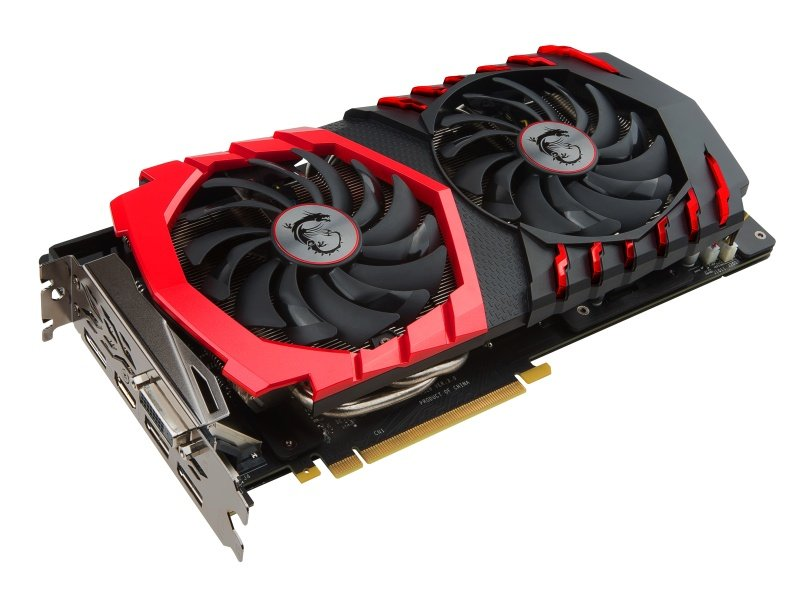 MSI GeForce GTX 1060 GAMING X 6GB GDDR5 Dual-Link DVI-D HDMI 3x DisplayPort PCI-E Graphics Card