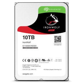 """Seagate IronWolf 10TB 3.5"""" NAS Hard Drive"""