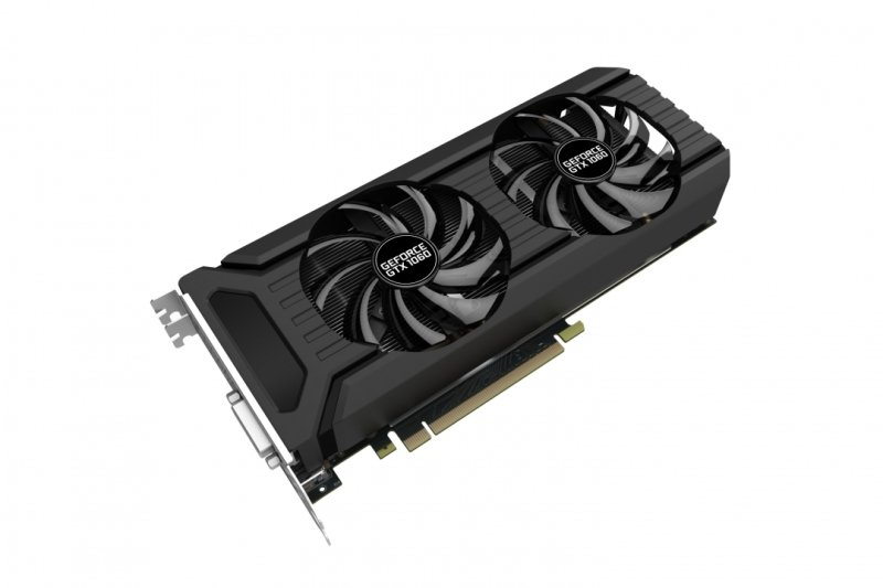 Palit GeForce GTX 1060 Dual 6GB GDDR5 Dual-link DVI HDMI 3x DisplayPort PCI-E Graphics Card
