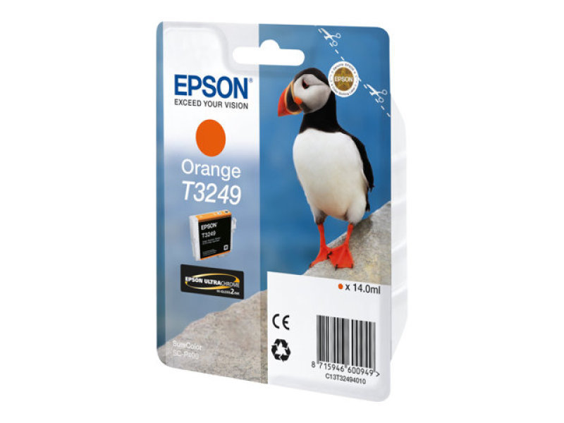Epson Original C13T32494010 Orange Ink Cartridge