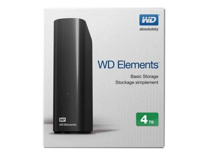 WD Elements Desktop 4TB External HDD