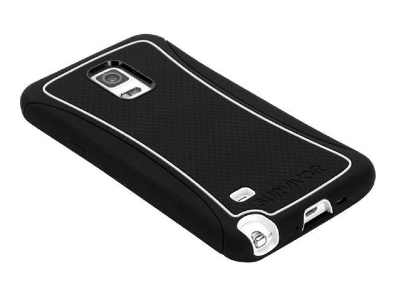 Survivor Slim for Galaxy Note 4 wh/Black
