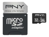 PNY Turbo Performance 32GB microSDHC flash memory card