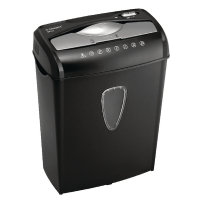 Q Connect Cross Cut Paper Shredder